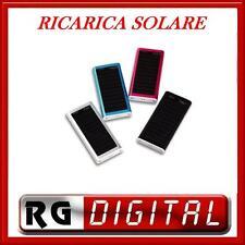 CARICABATTERIE PANNELLO SOLARE USB MP4 X CELLULARI MP3