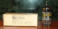 Ge 5814 Carbonized Plates Vacuum Tube 1953 Very Strong Results 2220/2310 µmhos