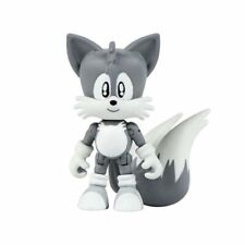 Action Figure Toy - Sonic the Hedgehog - Classic Tails - Black and White