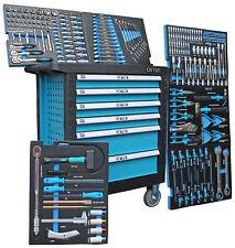 Werkstattwagen Werkzeugwagen gefüllt XXL Werkzeugkasten Werkzeugschrank rollbar