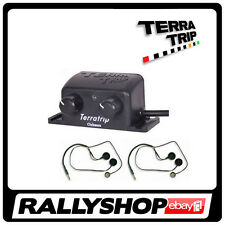 Terratrip Clubman SET Intercom Amplifier 2 Headset Closed Full Face Complete KIT