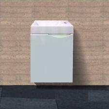 400 mm Space Saver Fingerpull Wall Hung Bathroom Ensuite Vanity
