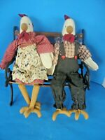 Plush Toy Country Chicken all dressed up no place to go Stuffed Animals