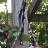 "2 x 14"" Garden Hanging Basket Spare Metal Chains Easy Fit Replacement - HBC14"