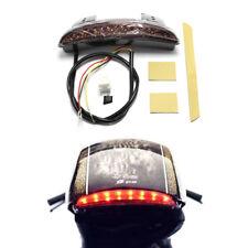 Smoke Lens LED Tail Light Brake Light for Motorcycle Bobber Chopper Sportster AU