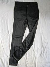 Monki Donna Pantaloni Stretch tubo Casual Pant tg. 38 l32 High Waist SLIM FIT TUBE