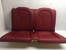 08 09 10 11 12 13 14 15 Audi TT QUATTRO RED LEATHER REAR SEATS TOP & BOTTOM