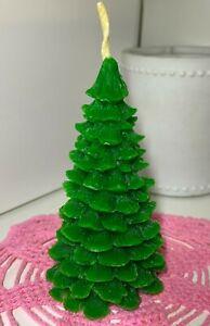 Organic Beeswax Homemade Candle Fir-tree