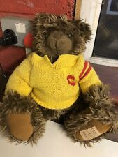 Giorgio Beverly Hills Collectable teddy bear 1997 As Found Unwashed