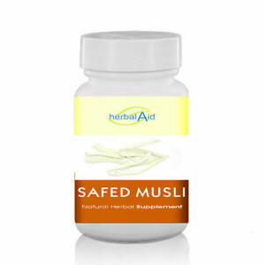 White Musli Safed Musli Capsule Support Strength Sexual Health General Wellbeing