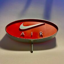 Vintage Nike Air Advertising Display Sign Swoosh Logo Rare 3-D Metal 9�