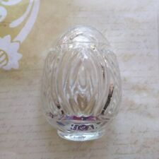Vintage/Antique Usa Art Deco Clear Glass Bird Cage Feeder/Seed/Water Cup/Bowl