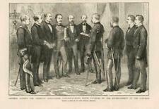 1873 Antiguo Print-España Nueva República señor Figueras general hoces (147B)