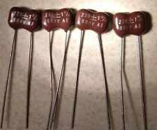 4-PCS  Silver Mica  Cornell Dubilier  Capacitors MANY VALUES TO CHOOSE FROM !!