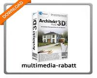 Avanquest Architekt 3D X8 Home Planungssoftware Eigenheim