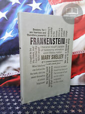 NEW Frankenstein by Mary Shelley Faux Leather Word Cloud Edition