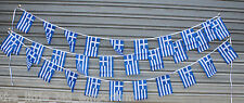 Greece 30 Flags 9 Metres Long Flag Banner String Bunting Greek Party