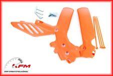 KTM KIT COPPIA PROTEZIONI TELAIO ARANCIO  EXC 2008 2009 2010 2011 7730309410004
