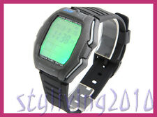 Touch Panel Green Led Back Light TV DVD VCR Remote Control Men Women Wrist Watch