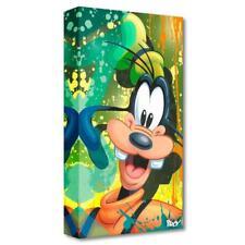 "Disney Fine Art ""Goofy"" by ARCY Limited Edition Canvas; COA"