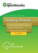 QuickBooks Premier 2017 5-user