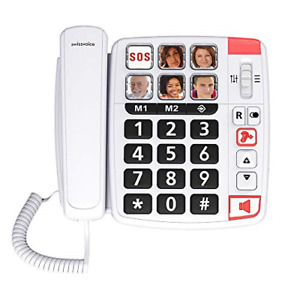 Swissvoice Xtra 1110 - Big Button Phone for Elderly - Phones for Hard of Hearing