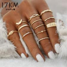 12 pc/set Ring Set (Bronze, Silver or Gold)