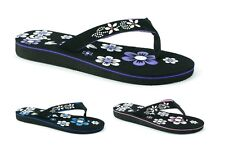 LADIES WOMENS FLAT FLIP FLOP THONG SUMMER BEACH HOLIDAY SANDALS SHOES SIZE