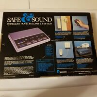 Vintage Safe And Sound Wireless Home Security System Model Rc-2010 Dimango RARE