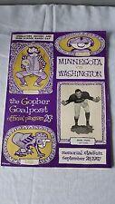 Gopher Goalpost Minnesota vs. Washington Memorial Stadium September 28, 1957
