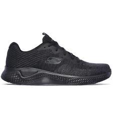 Skechers Solar Fuse Kryzik Sneaker Uomo Nero (black Mesh/synthetic/black Trim
