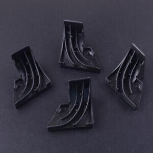 4x Black Silica Gel Door Baffle Bezel fit for GE Dishwasher WD8X228 or WD8X227