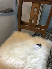 Sheepskin Seat Cover / Pet - Cat Bed / Comforter Plush Chair Pad Motorcycle