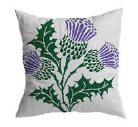 Cross Stitch Pillow Kit Thistle
