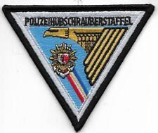 Polizei Abzeichen Polizeihubschrauberstaffel MECKLENBURG-VORPOMMERN  Heli Patch