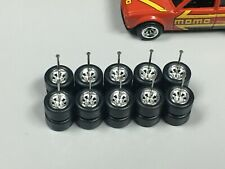 Rl09 >Lot 5 Set Hot Wheels 1/64 > Watanabe Chrome, Jdm Rubber Tires Real Riders