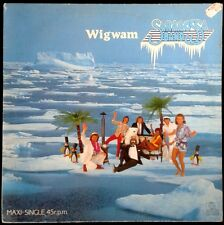 SARAGOSSA BAND - Wigwam (Bob Dylan) - Spain Ariola 1984 Maxi Single - Maxisingle