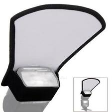 Camera Flash Diffuser Softbox Silver and White Reflector for Canon Nikon
