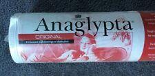 New listing 1 Bolt Anaglypta Original Paintable Textured Wallpaper Laney Rd 396