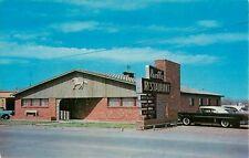 Vintage ROUTE 66, Rambler Restaurant, Shamrock, Texas Postcard