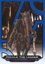 Star Wars Galactic Files Reborn Blue Parallel Base Card AOTC-19 Poggle