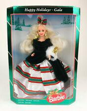 Barbie 13545 Mattel 1994 Happy Holidays Special Edition Gala Doll NIB NRFB NOS