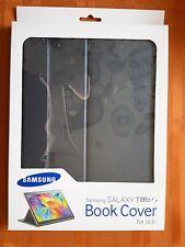 Genuine Samsung Galaxy Tab S 10.5 Book Cover (EF-BT800BBEGUJ) - Charcoal Black