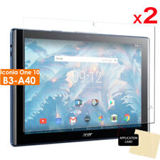 2x CLEAR LCD Screen Protector Cover Guards for Acer Iconia One 10 B3-A40