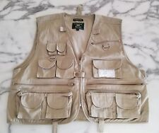 Crystal River Fly Fishing Vest Size L Large 27 Pockets Zippers Never used,  Nice