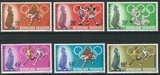 Togo - Olympische Sommerspiele Mexiko Satz postfrisch 1968 Mi. 661-666