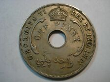 BRITISH   WEST AFRICA   1 PENNY  1942