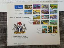 Seltener  Erstagsbrief Nigeria 1973 gestempelt