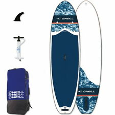 "O'Neill SUP NAVY 10'6"" SUP Board Stand Up Paddle Surf-Board aufblasbar Paddel IS"