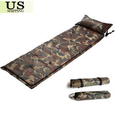 Outdoor Camping Self-Inflating Air Mat Mattress Pad Pillow Hiking Sleeping Bed